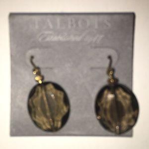 Talbots NWT Smokey Quartz Earrings